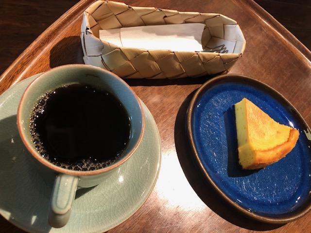 エルヴカフェ かぼちゃのチーズケーキ