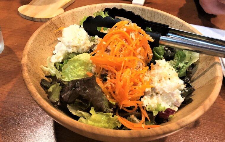 こまち食堂 サラダ